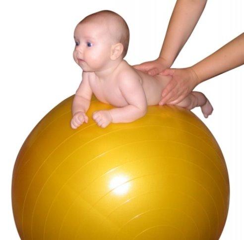 Мяч для новорожденных для массажа