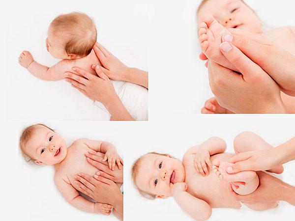 При массаже плачет ребенок